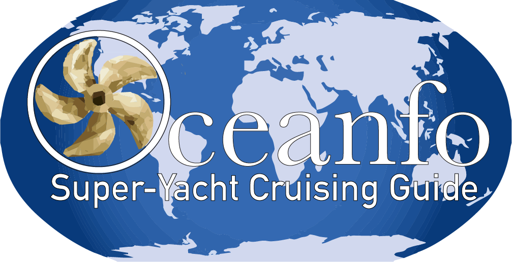 Oceanfo Super-Yacht Cruising Guide Logo